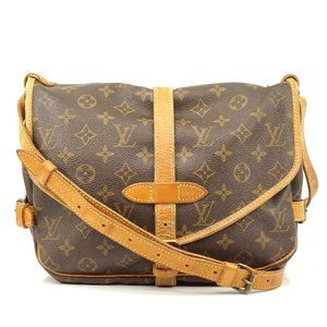 Louis Vuitton Saumur 30 Brown Crossbody #5362L22